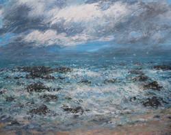 Beyond the Waves 80x100cm