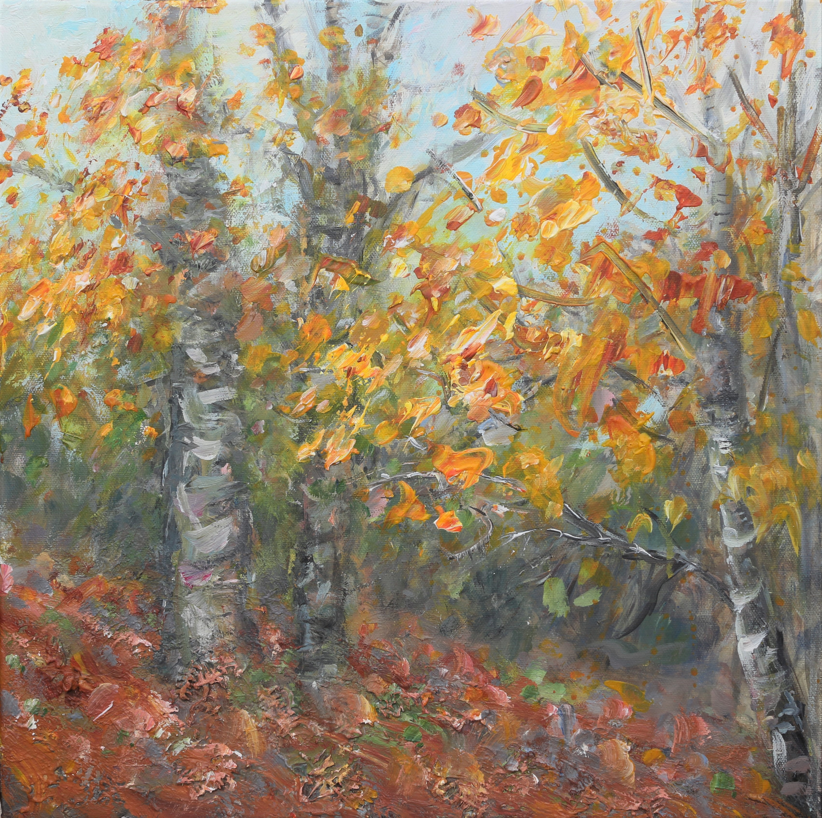Autumn splendor 40x40cm