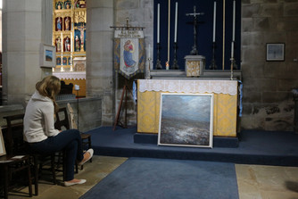 Exhibition at The Lady Chapel Old Glossop Parish church
