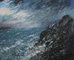Storm tide 62x78cm