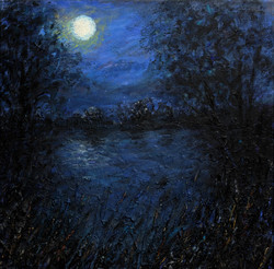 Moonlit Pond