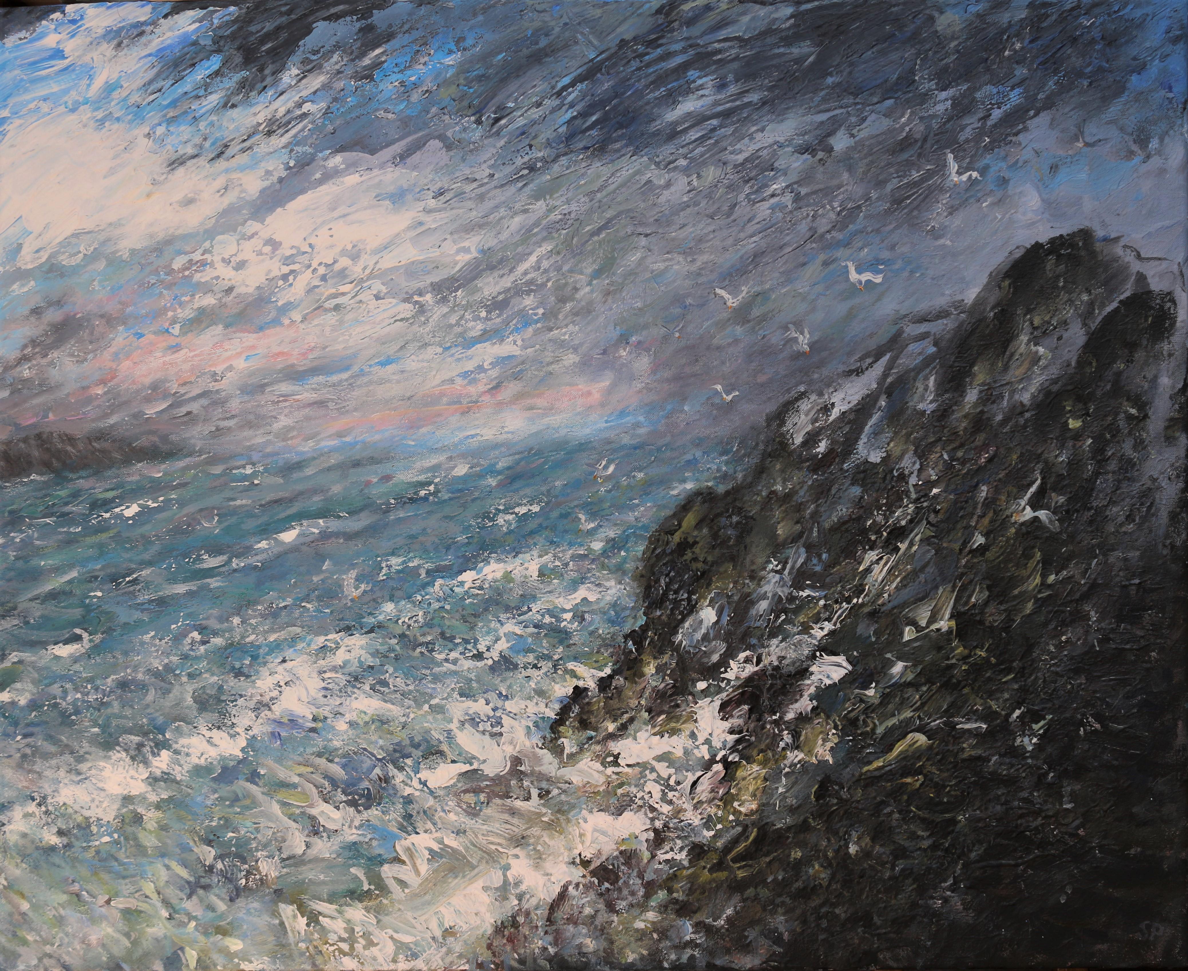 Storm tide 62 x76 cm