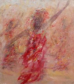 Red dancers of Rajahstan