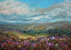 Over the hills and far away 25x35cm