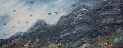 Crows over the edgeMixed media 50x60cm.jpg