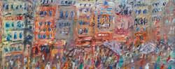 Ghats at VaranasiMixed media 60x60cm.jpg