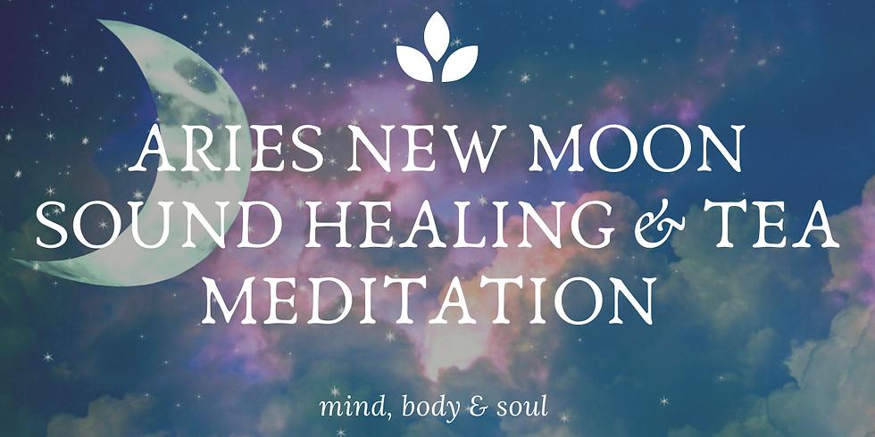 NEW MOON SOUND HEALING & TEA MEDITATION