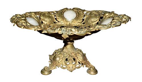 """Bronze Center Piece 9""""h x 19""""w"""