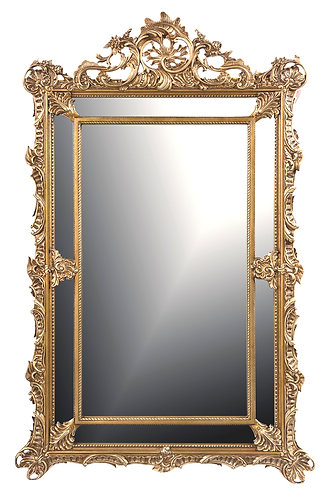 "Gold Gilt Mirror 26""w x 36""h"