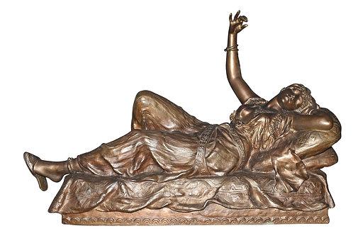 Spelter Statue of Cleopatra