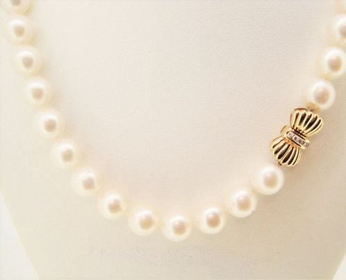 Pearl Necklace 10.50mm