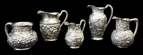 Repose' Sterling Silver Water Pitchers
