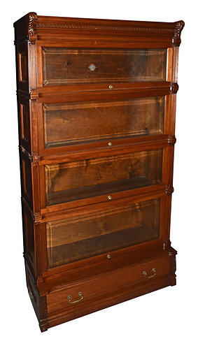 """Ideal Mahogany Bookcase 63""""h x 36""""w"""