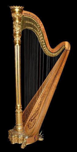 "Lyon Healy Harp 74""h"