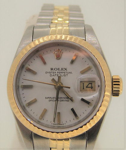 Lady's Stainless and Gold Rolex