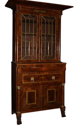 """Federal Secretary Bookcase 53""""w x 98""""h"""