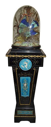 Pedestal w/ Porcelain Plaques