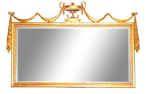 "Gold Gilt Mirror 64""w x 40""h"