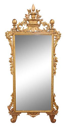 "Gold Gilt Mirror 34""w x 76""h"