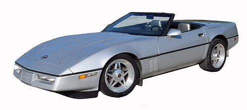 1986 Corvette Convertible Special Edition: Tuned Port Injection (55,000 miles)