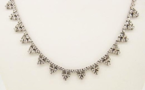 Platinum Dia- 5.00ct Necklace