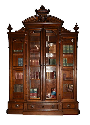 "Renaissance 4 Door Bookcase 114""h x 78""w"