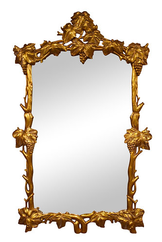 "Gold Gilt Mirror 40""w x 65""h"