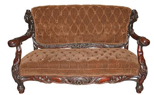 Rare, 3 pc Art Nouveau Parlor Suite by Karpen Furniture