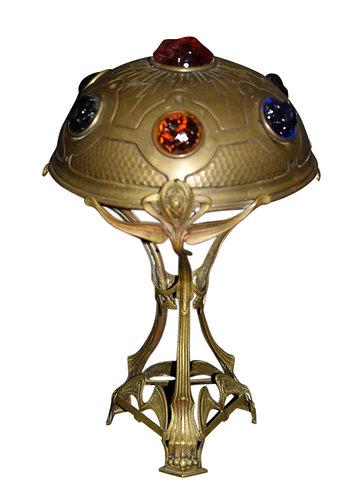 """Chunk Jewel Lamp 16""""h x 9""""w"""