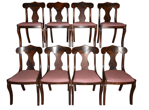 Set of 8 Empire Dining Chairs