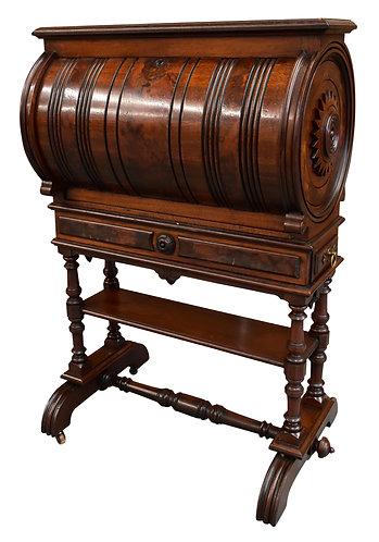 "Unusual Victorian Cylinder Desk 30""w x 44""h"