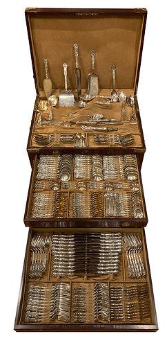 Sterling Silver Set King George Pattern by Gorham