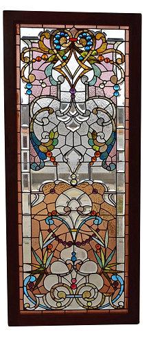 """Stained Glass Window 77""""h x 30""""w"""