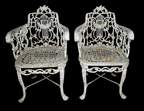 Cast Iron Chairs
