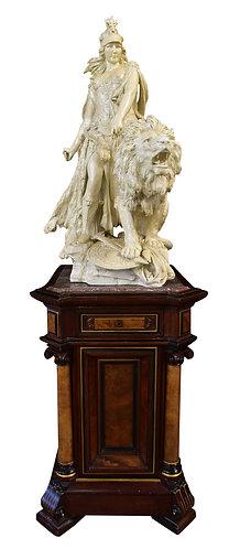 """Porcelain Statue 36""""h"""
