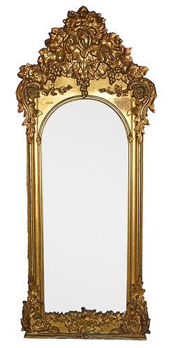 "Gold Gilt Mirror 74""h x 32""w"