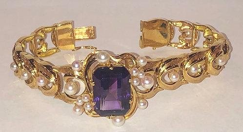 Bracelet 15.5 ct Amethyst