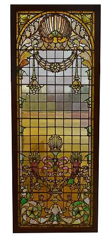 """Stained Glass Window 98""""h x 38""""w"""