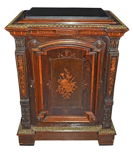 Rosewood Pedestal Cabinet