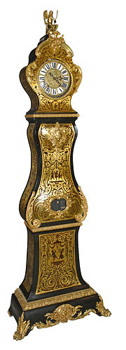 """Boulle Grandfather Clock 91""""h"""