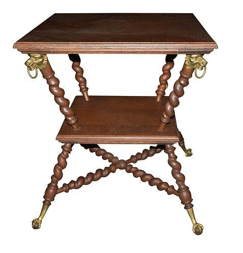 Oak Hunzinger Lamp Table