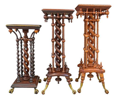 Collection of Merklin Pedestals