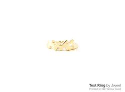 yellow gold 14k