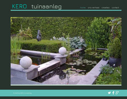 website tuinaanleg KERO - demo