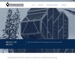 Website advocaten kantoor Penninger