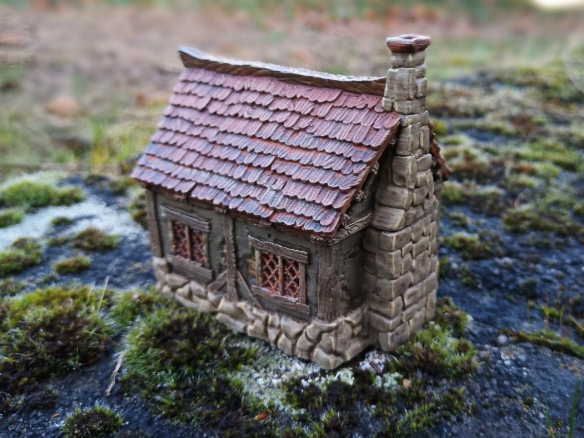 miniatuur huisje