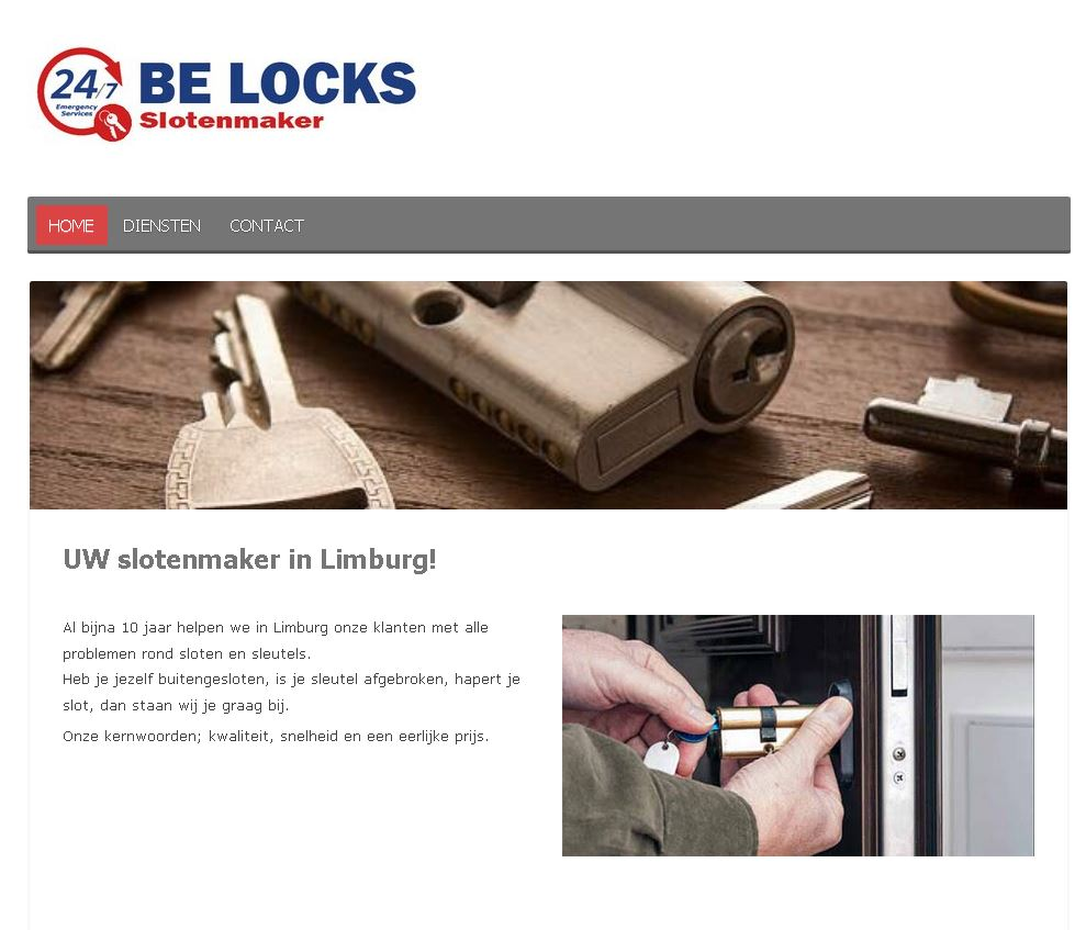 website BeLocks