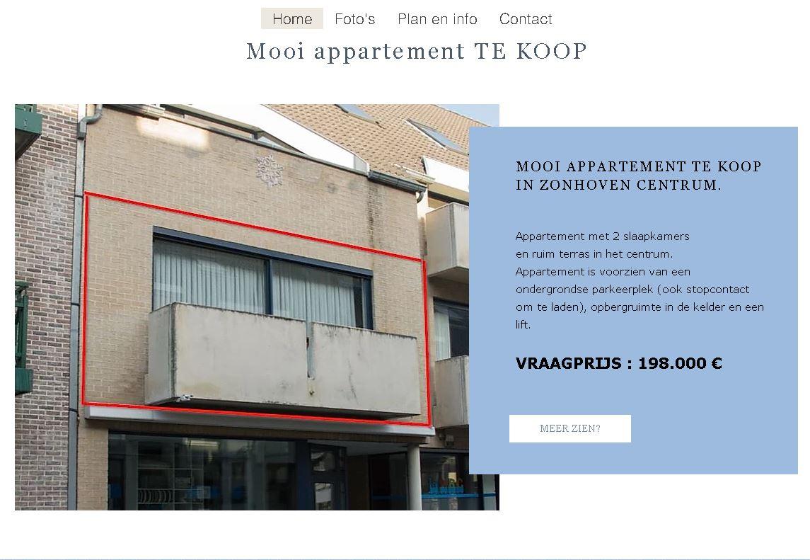website KoopOnsAppartement