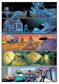 Andy STARBOY issue 1 (page 1) Leandro Me