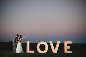 Sunset Wedding Photography Bloomsburg PA
